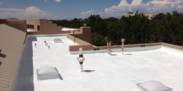 Roof-silicone